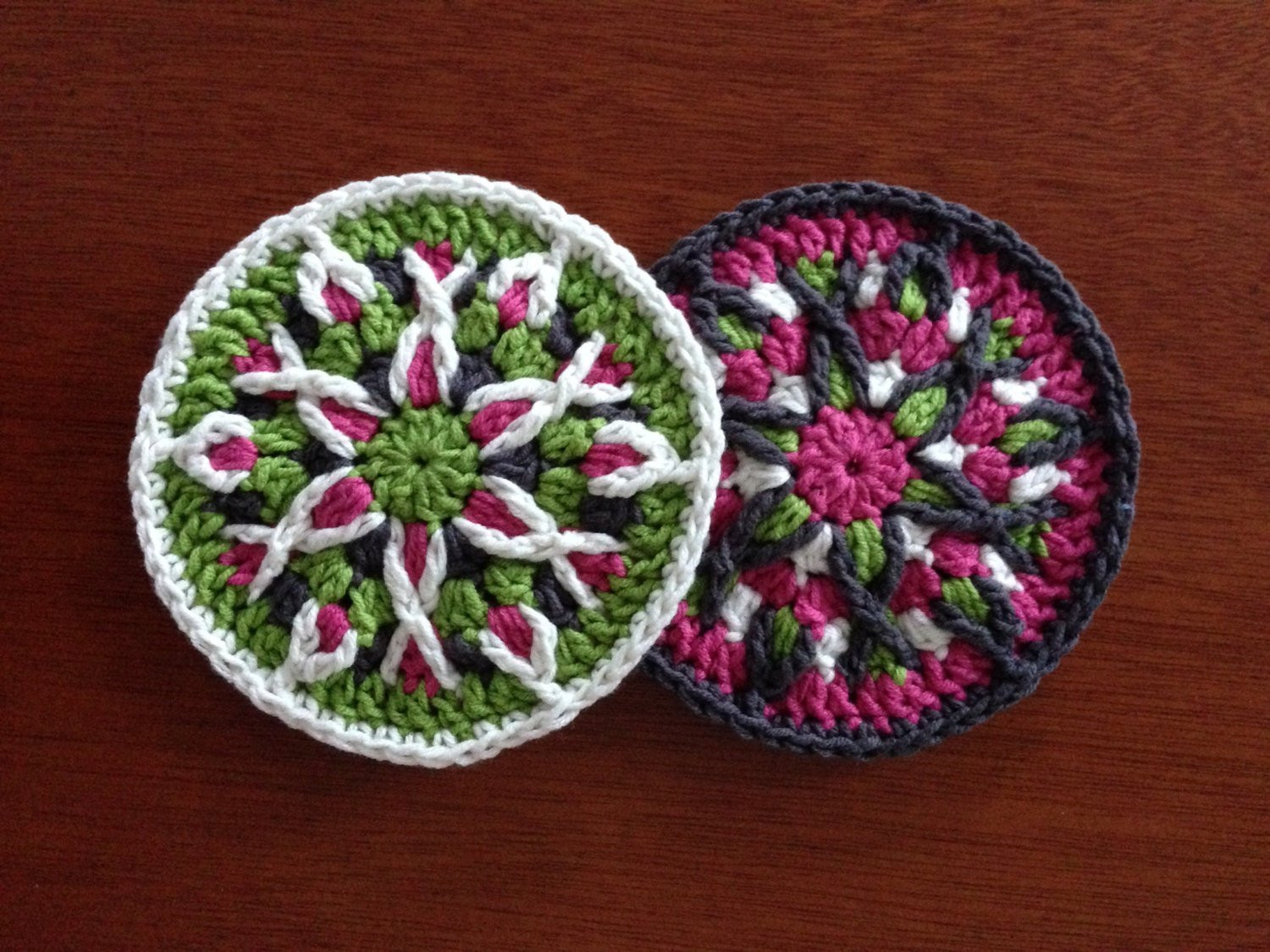Lovely Crochet Mandala Coaster Pattern Tutorial Crochet Mandala Mandala Crochet Patterns Of Beautiful 48 Pictures Mandala Crochet Patterns