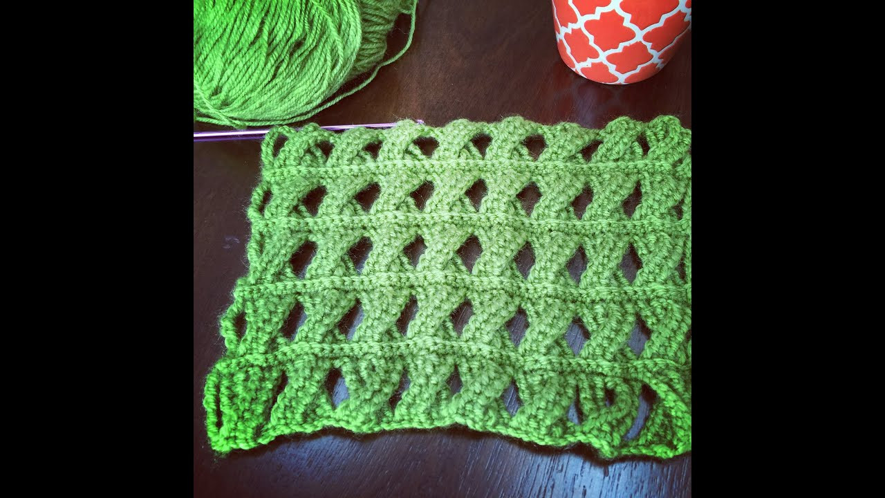 Lovely Crochet Pattern Cable Crochet Stitch Tunisian Crochet Crochet Stitches Youtube Of Attractive 48 Images Crochet Stitches Youtube