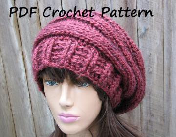 Lovely Crochet Pattern Crochet Hat Slouchy Hat Crochet Easy Crochet Hat Patterns for Beginners Of Perfect 43 Models Easy Crochet Hat Patterns for Beginners