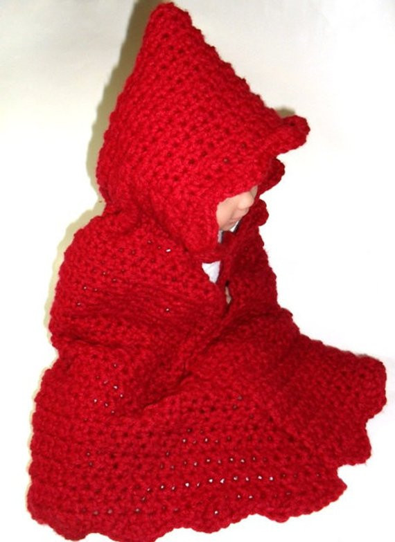 Lovely Crochet Pattern Digital Red Riding Hood Cape From Red Riding Hood Cape Pattern Of Charming 43 Pictures Red Riding Hood Cape Pattern