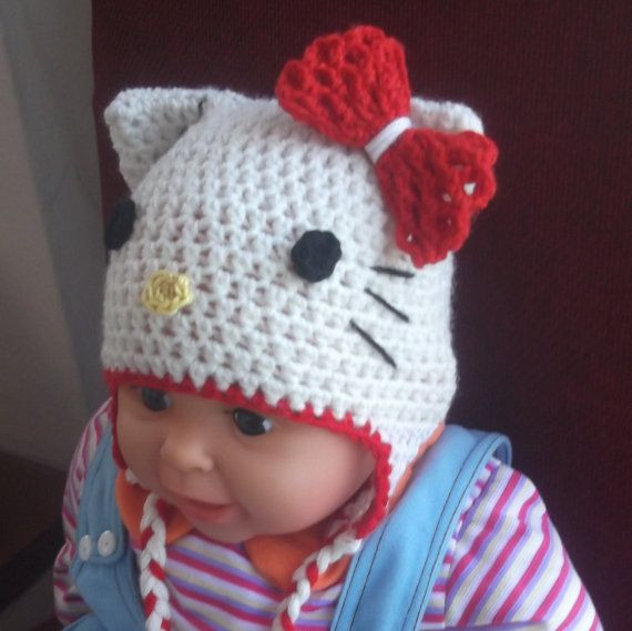 Lovely Crochet Pattern Easy and Quickly Hello Kitty Hat All Easy Crochet Hat Patterns for Adults Of Delightful 48 Photos Easy Crochet Hat Patterns for Adults