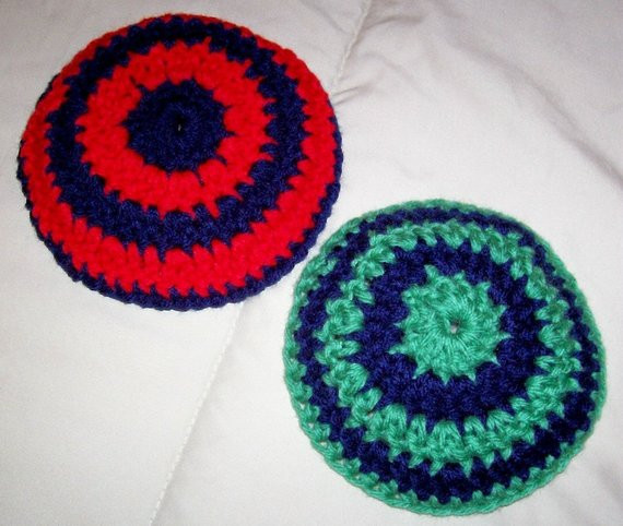 Lovely Crochet Pattern for Colorfully Striped Kippah Yarmulke Crochet Kippot Of Amazing 42 Ideas Crochet Kippot