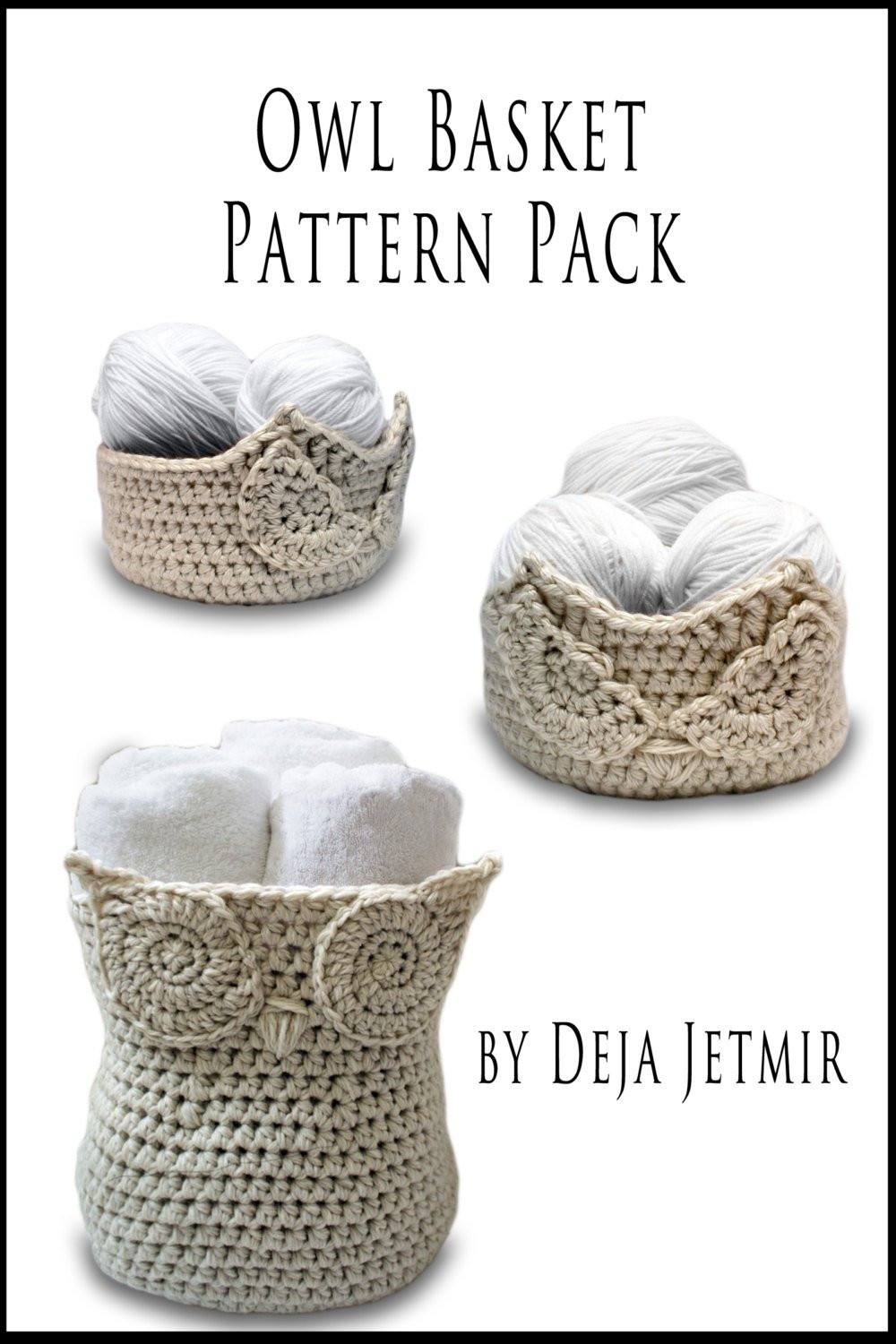 Lovely Crochet Pattern Owl Baskets Pattern Pack Crochet Crochet Owl Basket Of Brilliant 47 Photos Crochet Owl Basket