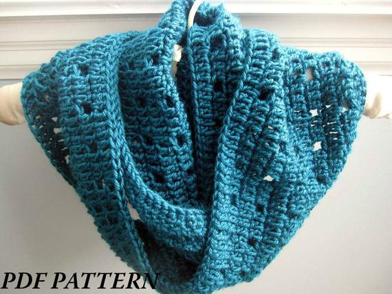 Lovely Crochet Pattern Pdf Easy Crochet Cowl Infinity Scarf Free Quick and Easy Crochet Scarf Patterns Of Wonderful 42 Photos Free Quick and Easy Crochet Scarf Patterns