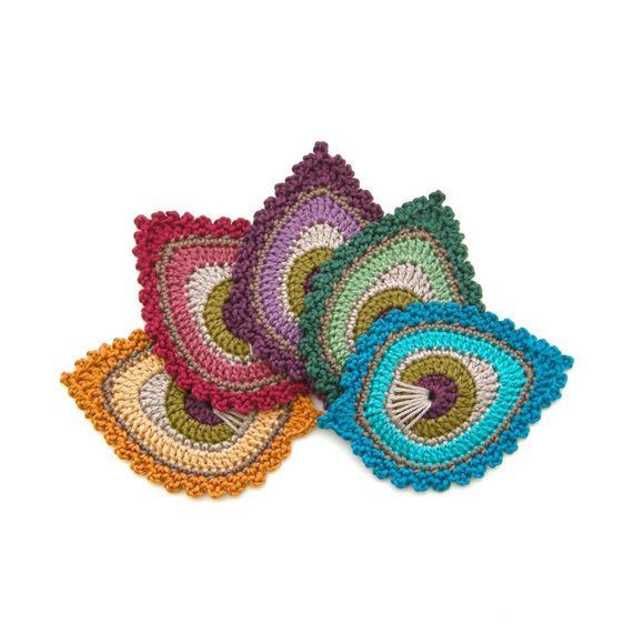 Lovely Crochet Pattern Peacock Feather Motif Java Crochet Peacock Feather Of Great 44 Models Crochet Peacock Feather