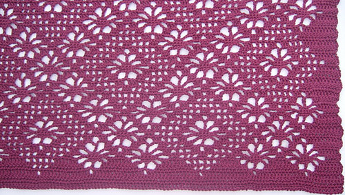 Crochet Patterns Galore Spider Lace Throw