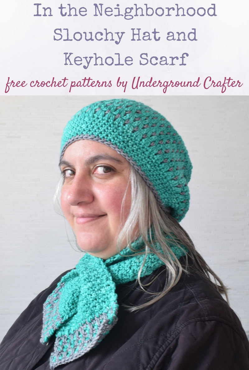 Lovely Crochet Patterns In the Neighborhood Set for Holiday Blog Crochet Hat and Scarf Of Superb 50 Pics Crochet Hat and Scarf