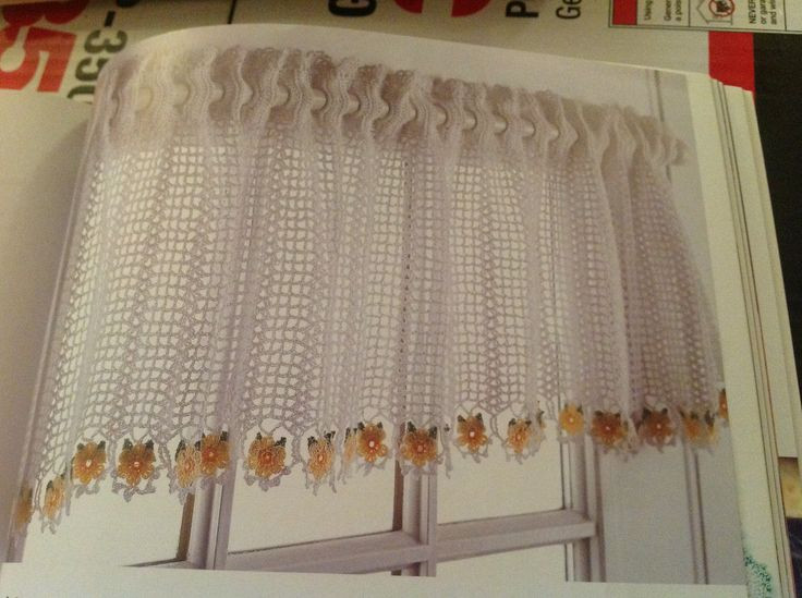 Lovely Crochet Patterns Valances Dancox for Crochet Curtain Patterns Of Contemporary 49 Ideas Crochet Curtain Patterns