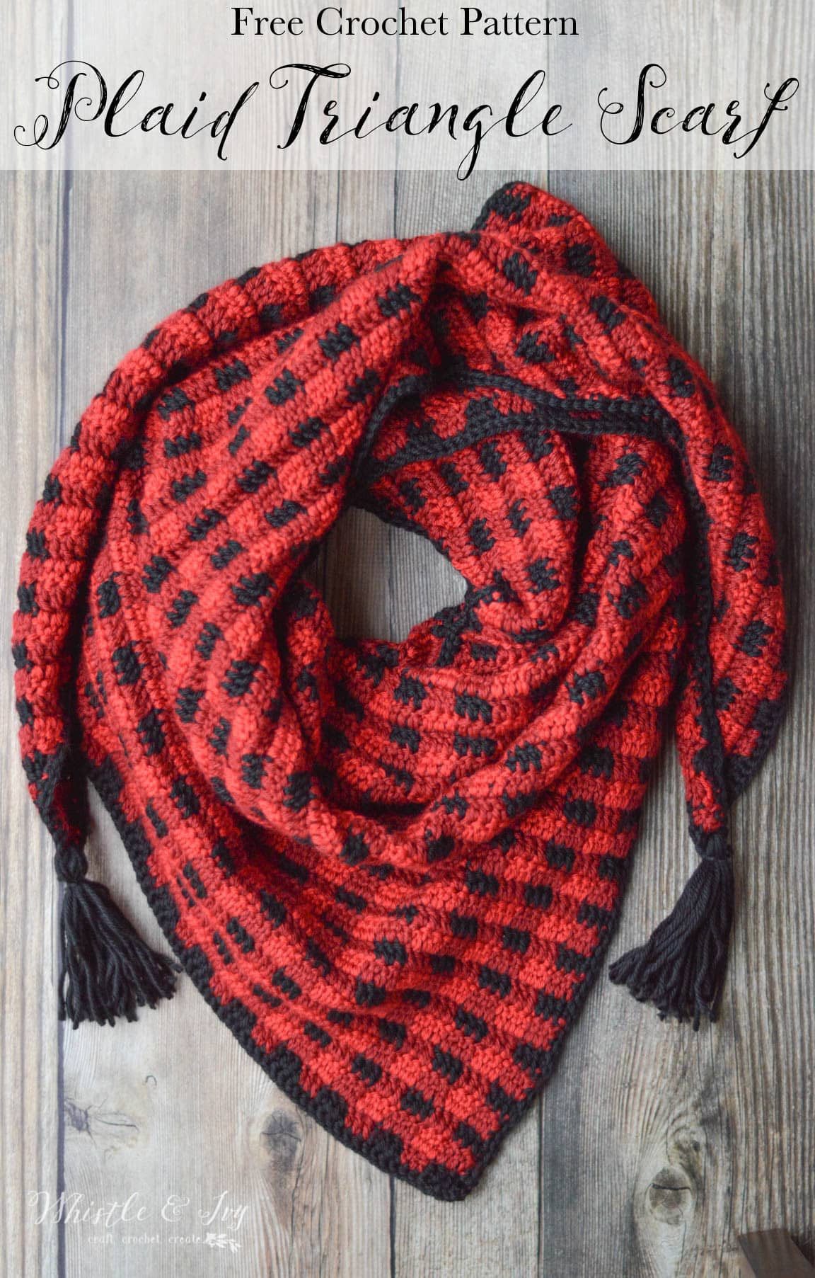 Lovely Crochet Plaid Triangle Scarf Free Crochet Pattern Crochet Triangles Of Charming 42 Images Crochet Triangles