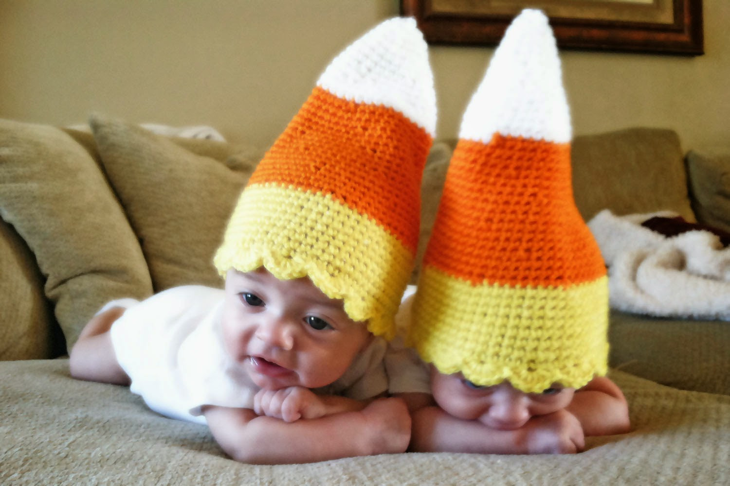 Lovely Crochet Rochelle Baby Candy Corn Hat Candy Corn Hat Of Incredible 42 Pictures Candy Corn Hat