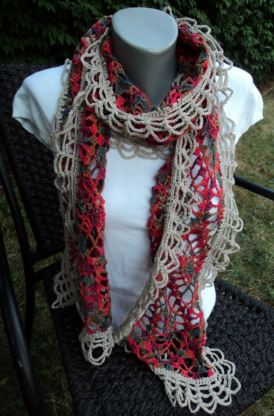 CROCHET RUFFLE SCARF PATTERN – Crochet Club