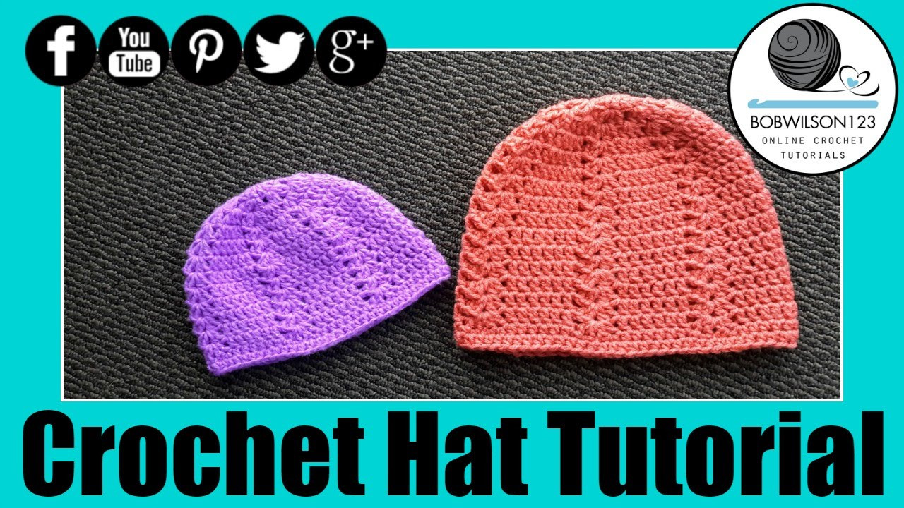 Lovely Crochet Shell Hat Tutorial Youtube Crochet Tutorial Videos Of Lovely 41 Photos Youtube Crochet Tutorial Videos