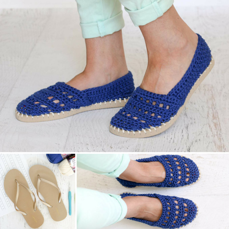 """Lovely Crochet Shoes with Rubber Bottoms Free """"toms"""" Style Rubber soles for Crochet Slippers Of Luxury 50 Models Rubber soles for Crochet Slippers"""