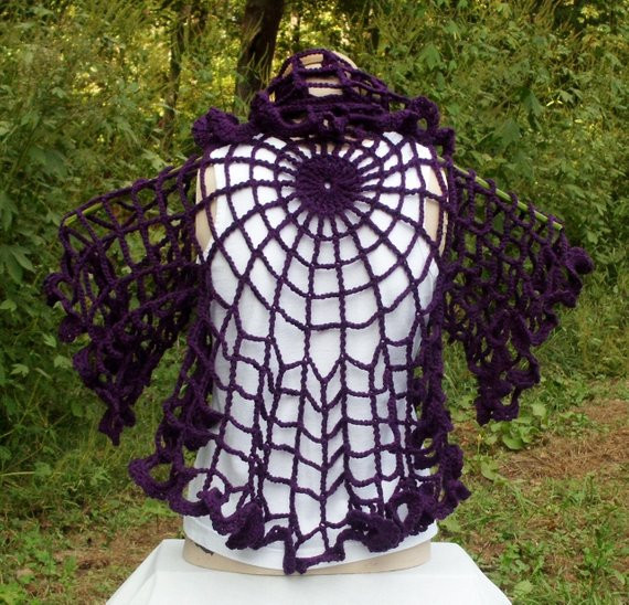 Lovely Crochet Spider Web Shawl by Rosecottagecrochet On Etsy Crochet Spider Web Pattern Of Lovely 50 Pics Crochet Spider Web Pattern