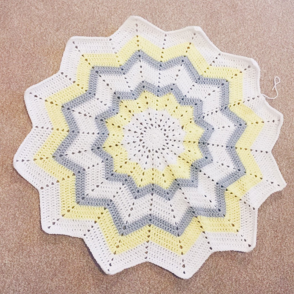 Crochet star blanket Hello Deborah