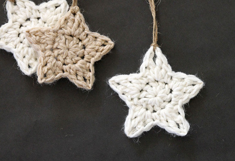 Lovely Crochet Stars Free ornament Pattern Persia Lou Crochet Christmas Decorations Of Perfect 50 Ideas Crochet Christmas Decorations