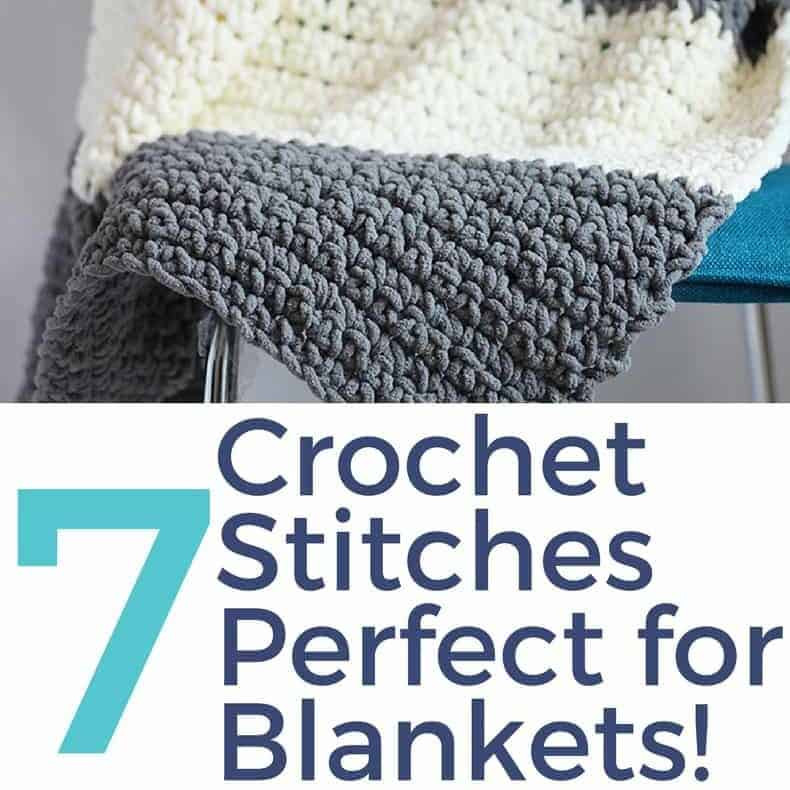 Crochet Stitches for Blankets ⋆ Rescued Paw Designs Crochet