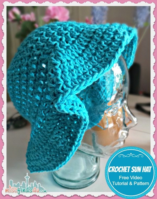 Lovely Crochet Sun Hat Free Pattern and Video Tutorial Crochet Summer Hat Of Awesome 45 Images Crochet Summer Hat