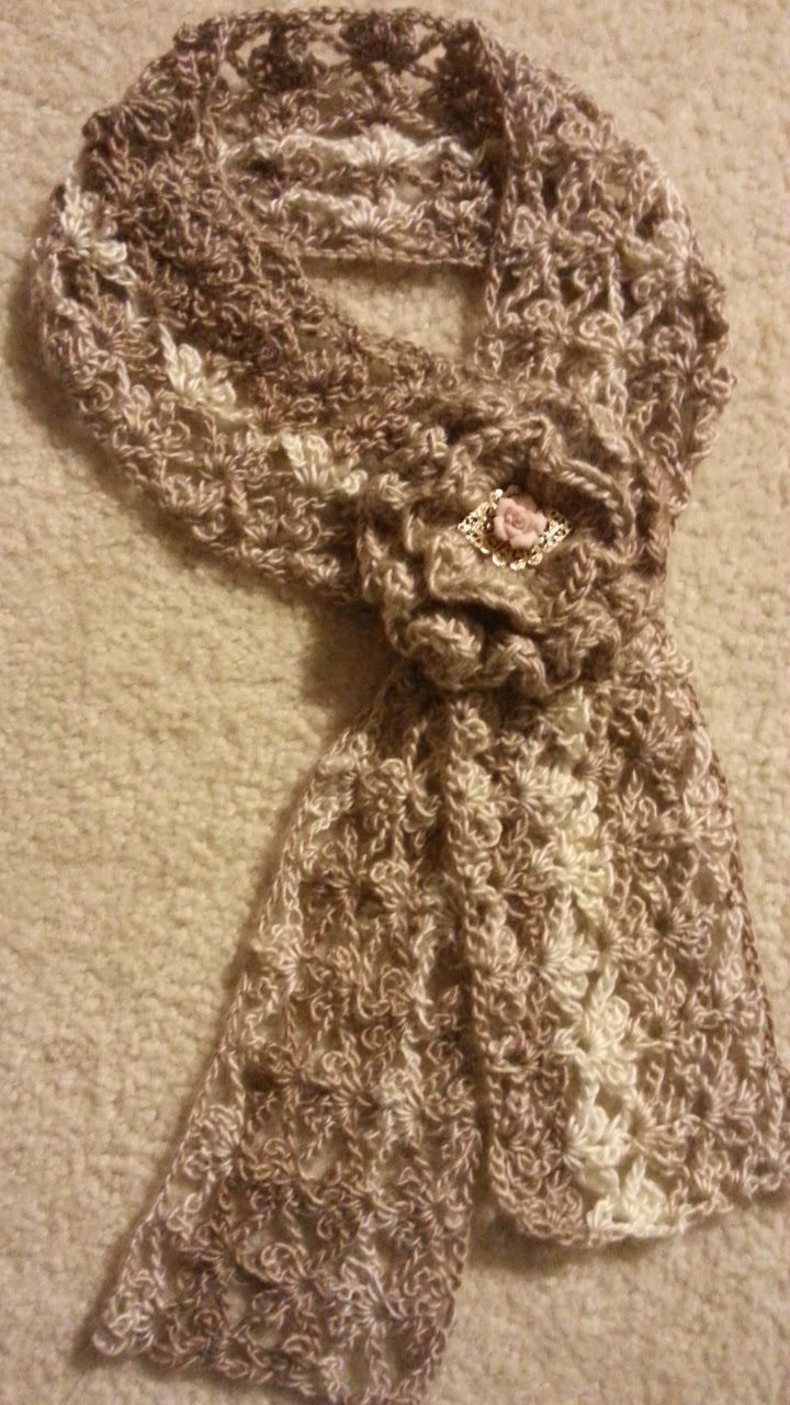 Lovely Crochet Trefoil Lace Stitch Scarf Tutorial How to Crochet Lace Scarf Of Incredible 41 Models Crochet Lace Scarf