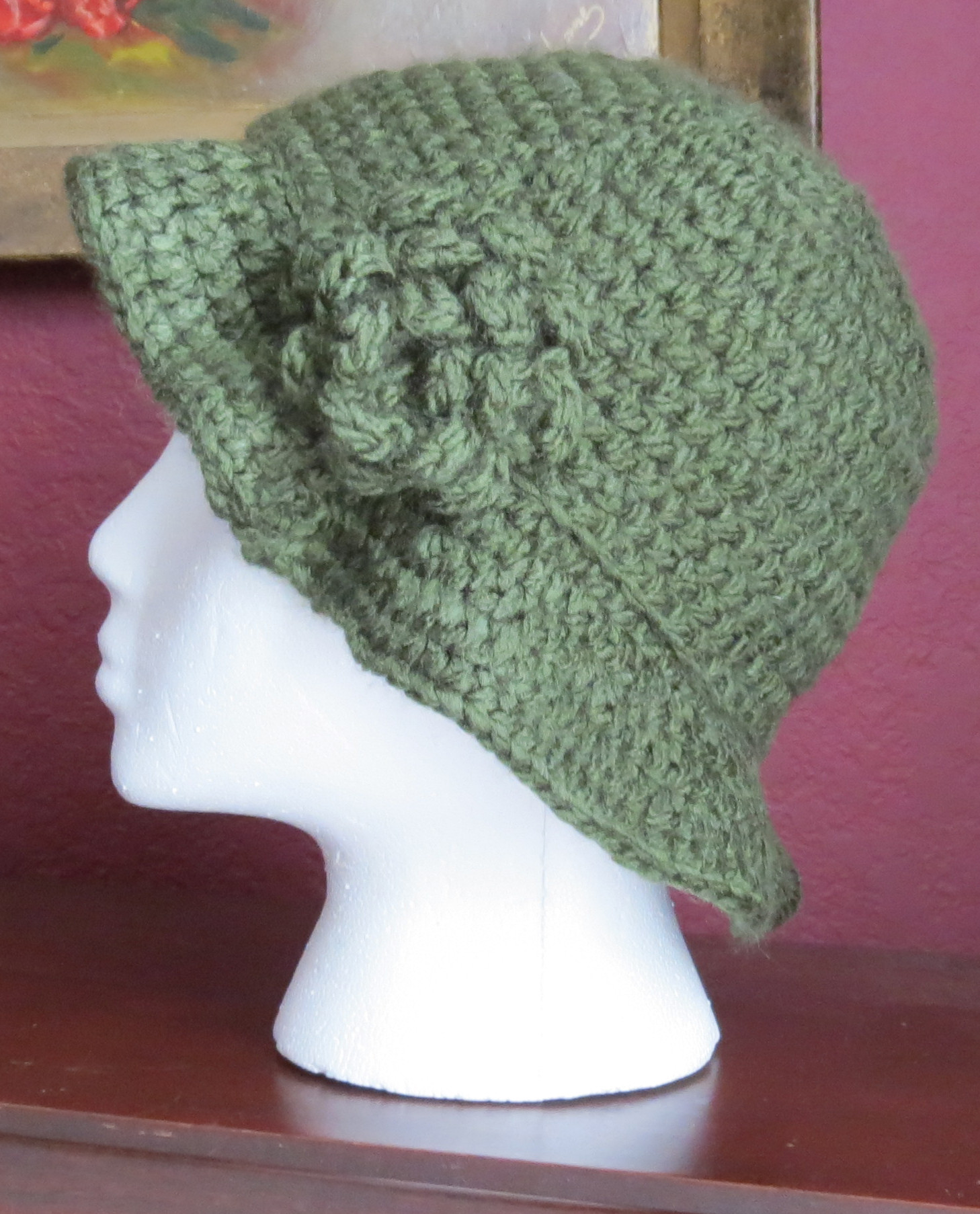 Lovely Crocheted 1920 S Cloche Hat Pattern My Life Made Crafty Crochet Hat Video Of Adorable 49 Models Crochet Hat Video