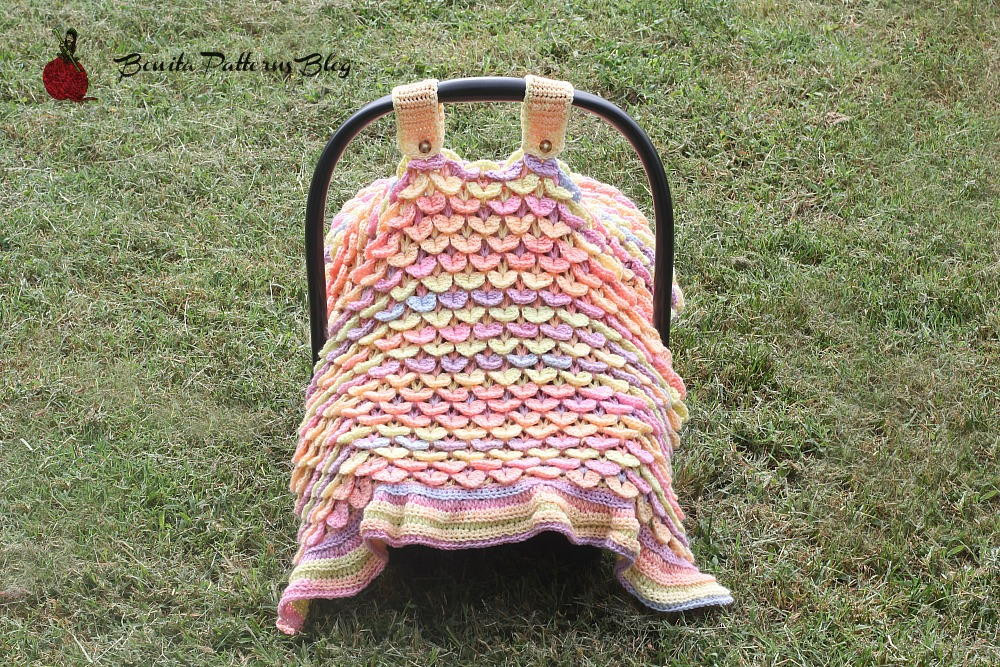 Lovely Crocodile Stitch Car Seat Cover Crochet Car Seat Cover Pattern Of Wonderful 44 Pictures Crochet Car Seat Cover Pattern