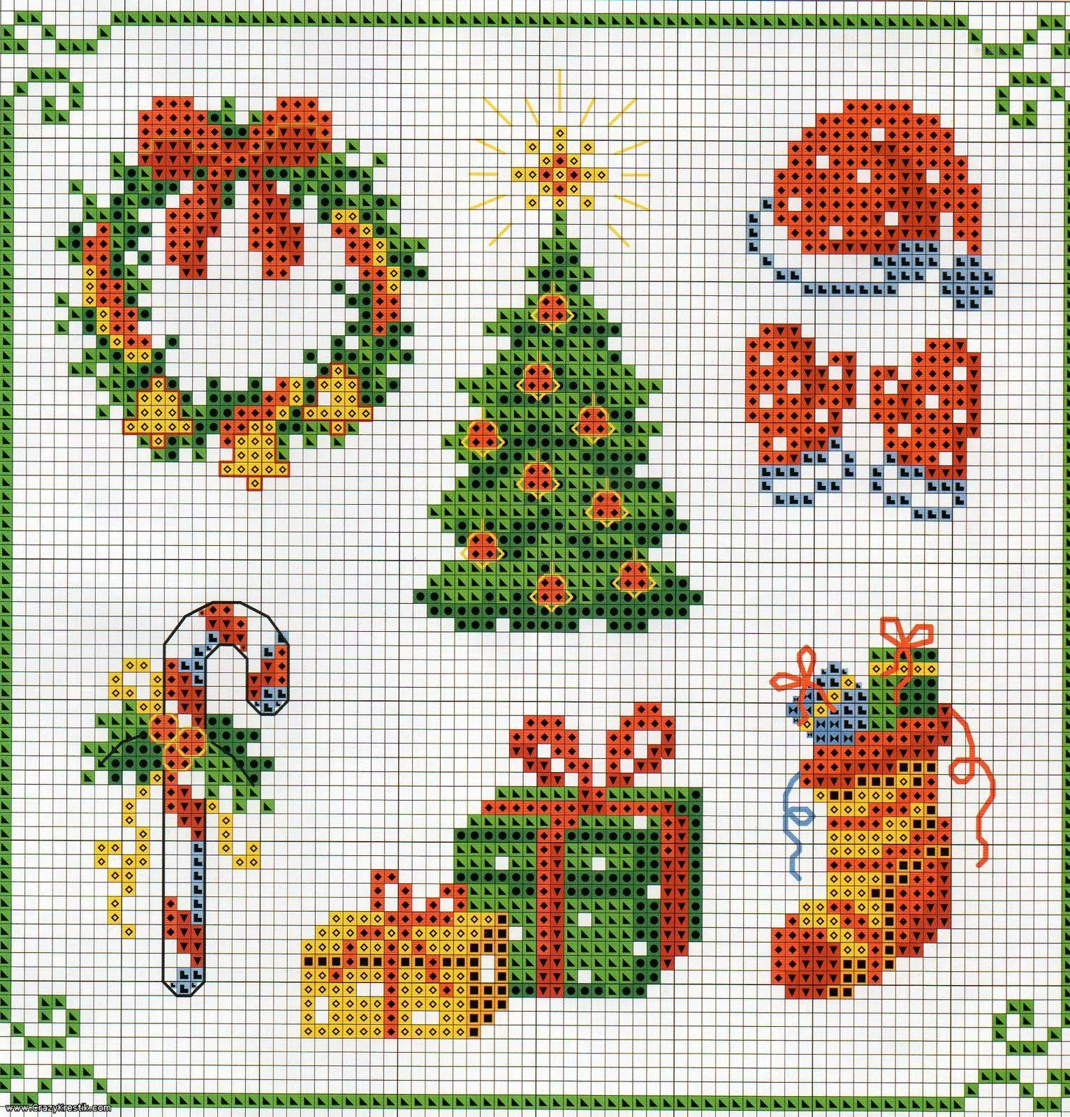 Lovely Cross Stitch and Redwork On Pinterest Christmas Cross Stitch Patterns Of Charming 48 Pics Christmas Cross Stitch Patterns