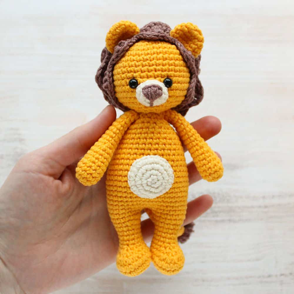 Lovely Cuddle Me Lion Amigurumi Pattern Amigurumi today Crochet today Of Beautiful 40 Photos Crochet today