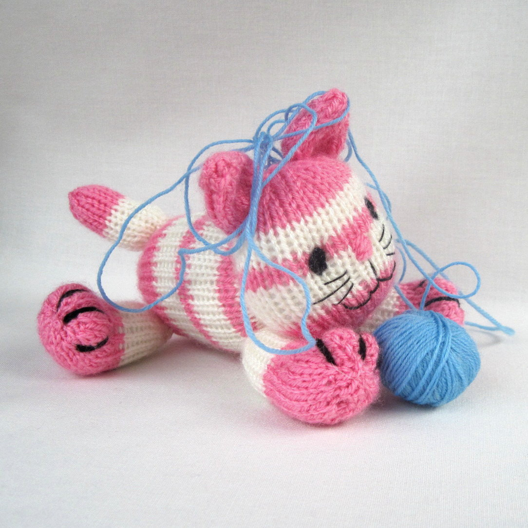 Lovely Cupcake the Kitten Knitted toy Cat Instant Download by Knitted Cat toys Of Fresh 44 Pics Knitted Cat toys