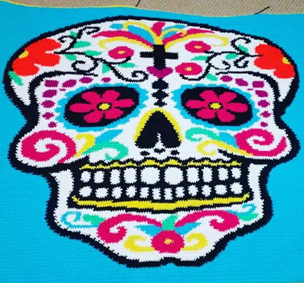 "Lovely Curated Collection Blog – Tagged ""craft Ideas"" – Sugar Crochet Sugar Skull Of Incredible 47 Pictures Crochet Sugar Skull"