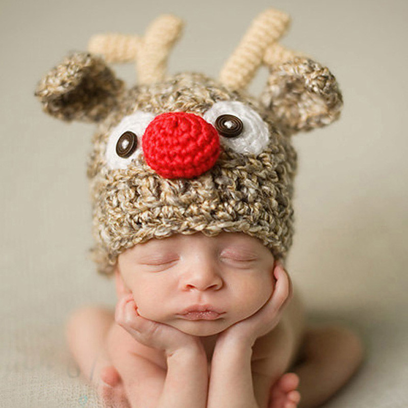 Lovely Cute Children Crochet Knit Deer Beanie Hat Baby Animal Cap Baby Animal Hats Of Attractive 49 Images Baby Animal Hats