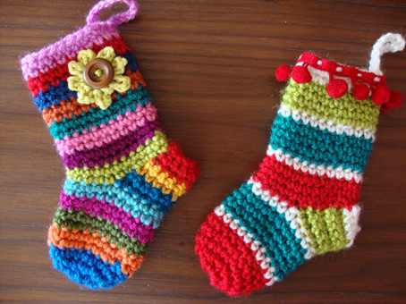 Lovely Cute Crochet Christmas sock Decorations Crochet Christmas Stockings Of Contemporary 48 Pics Crochet Christmas Stockings