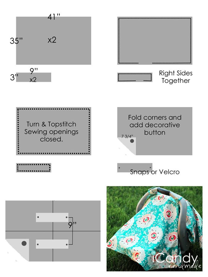 Lovely Diy Carseat Canopy Icandy Handmade 2014 04 Diy Car Seat Blanket Size Of New 48 Photos Car Seat Blanket Size