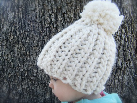 Lovely Diy Crochet Pattern Snow Cap Hat 4 Sizes Chunky Knit Look Chunky Crochet Hat Pattern Of Delightful 50 Ideas Chunky Crochet Hat Pattern