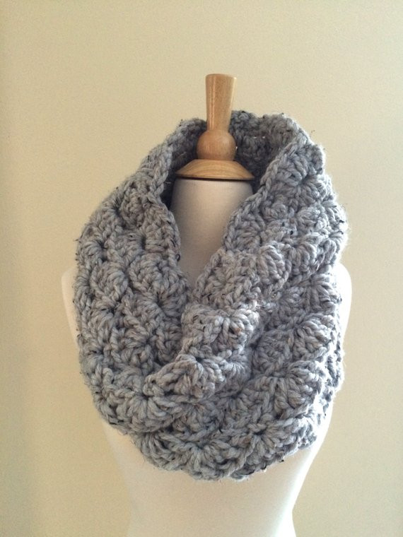 Lovely Diy Crochet Pattern sophie Cowl Super Bulky Lacy Infinity Chunky Yarn Crochet Of Innovative 43 Photos Chunky Yarn Crochet