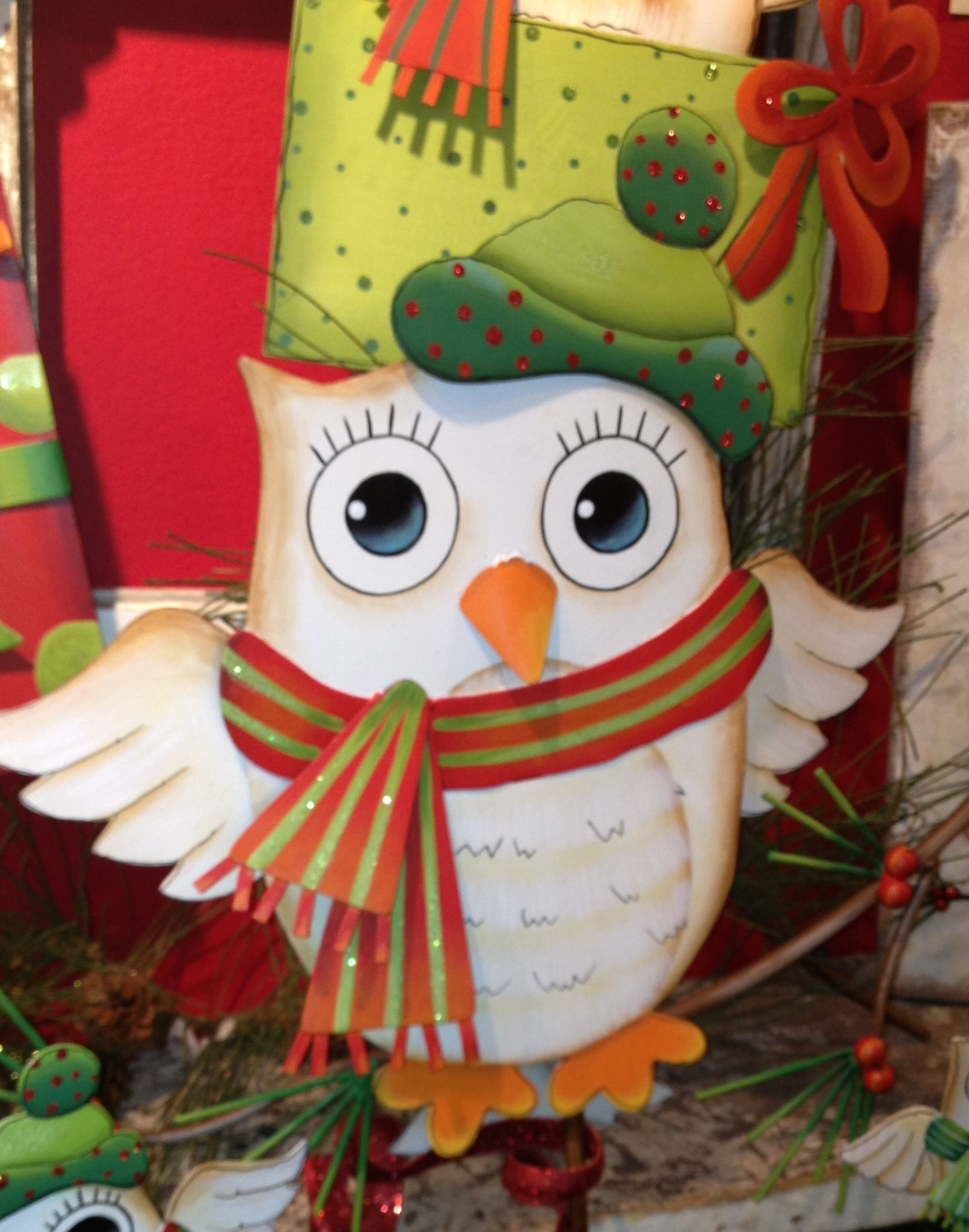 """Lovely Do You Give A """"hoot"""" About Your Decor Owl Christmas Decorations Of Delightful 49 Pics Owl Christmas Decorations"""