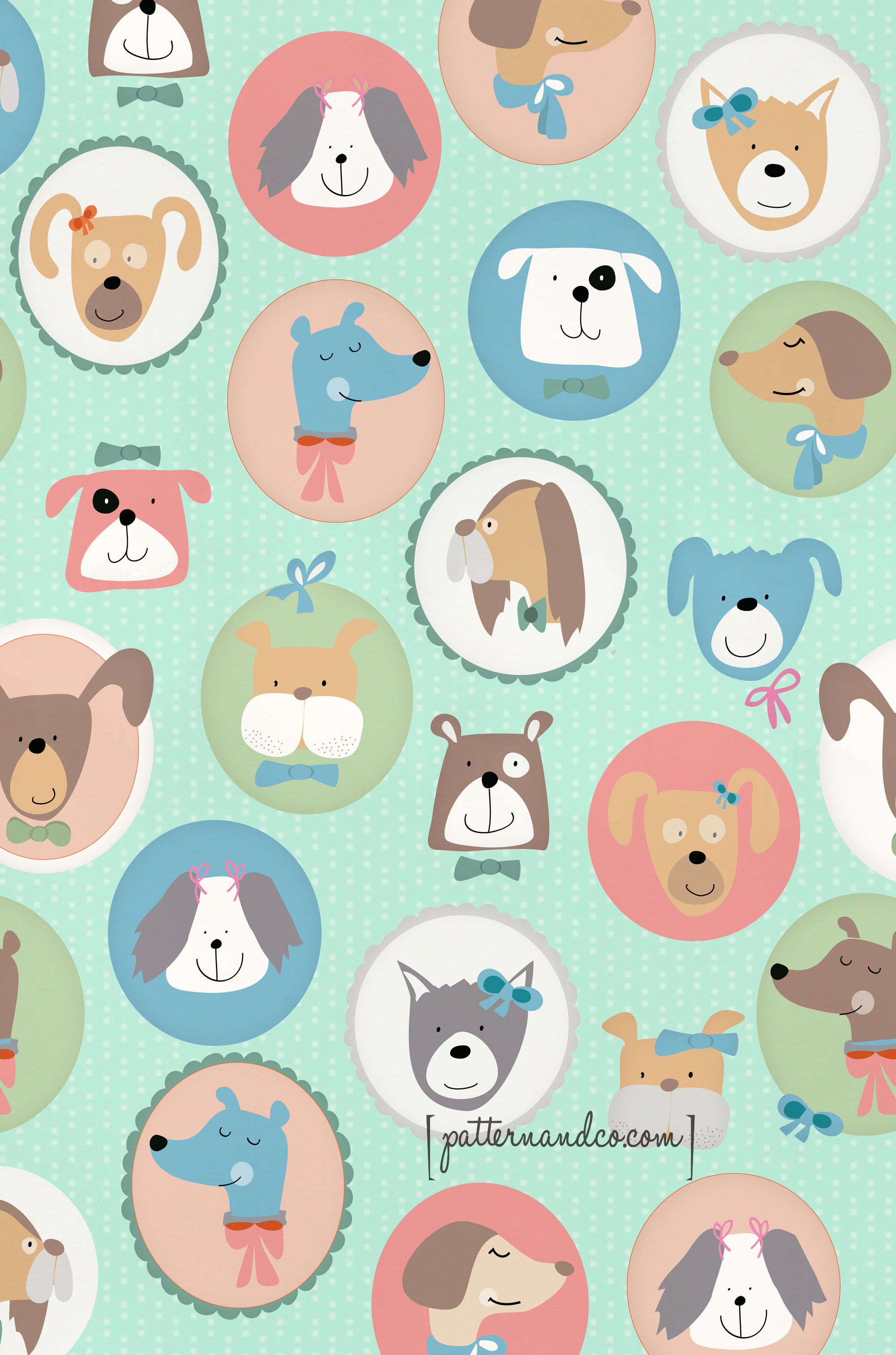 Lovely Dogs Dog Pattern Of Attractive 45 Photos Dog Pattern