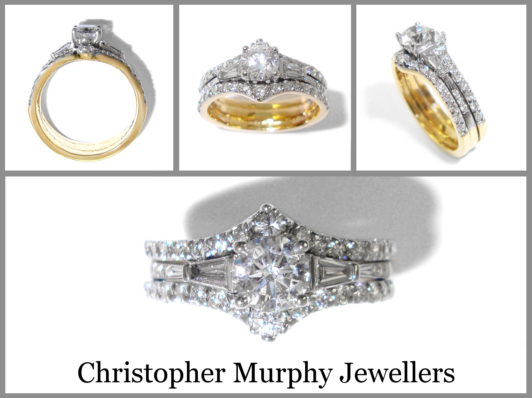 Double Wedding Ring 186 Christopher Murphy Jewellers