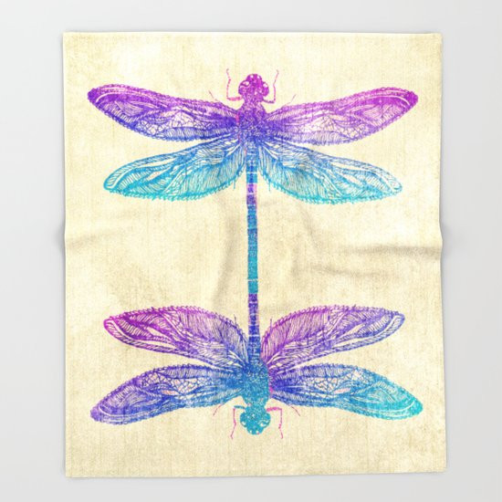 Lovely Dragonfly Dreams Throw Blanket by Rskinner1122 Dragonfly Blanket Of Incredible 45 Ideas Dragonfly Blanket