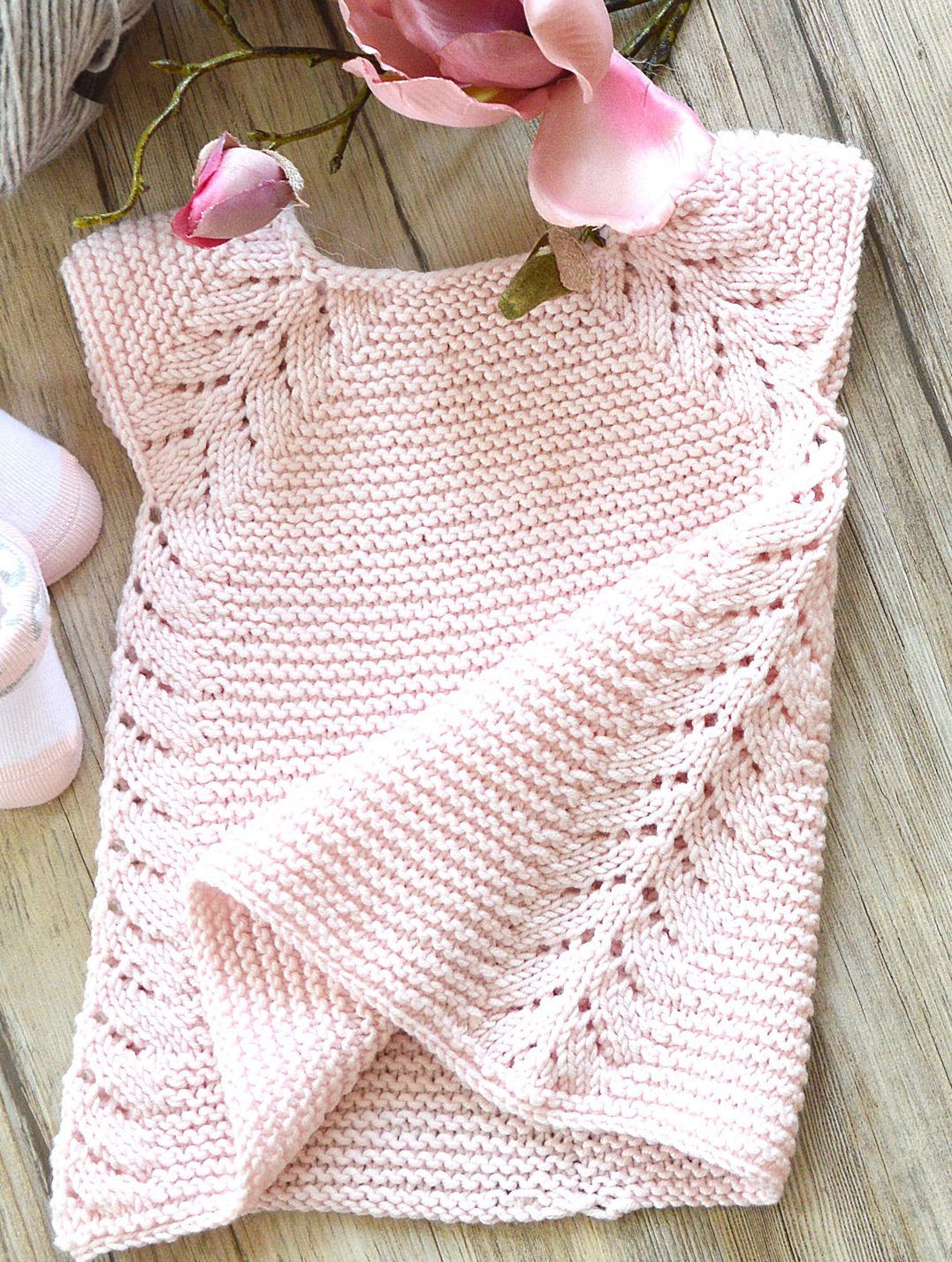 Lovely Dresses and Skirts for Children Knitting Patterns Knitted Baby Dress Of Brilliant 49 Photos Knitted Baby Dress