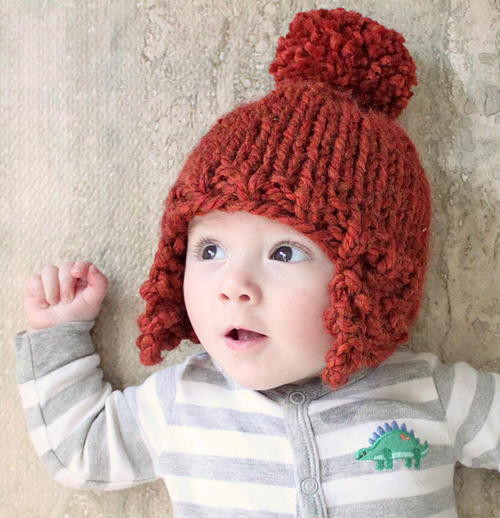 Lovely Ear Flap Baby Hat toddler Hat with Ear Flaps Of Innovative 48 Models toddler Hat with Ear Flaps