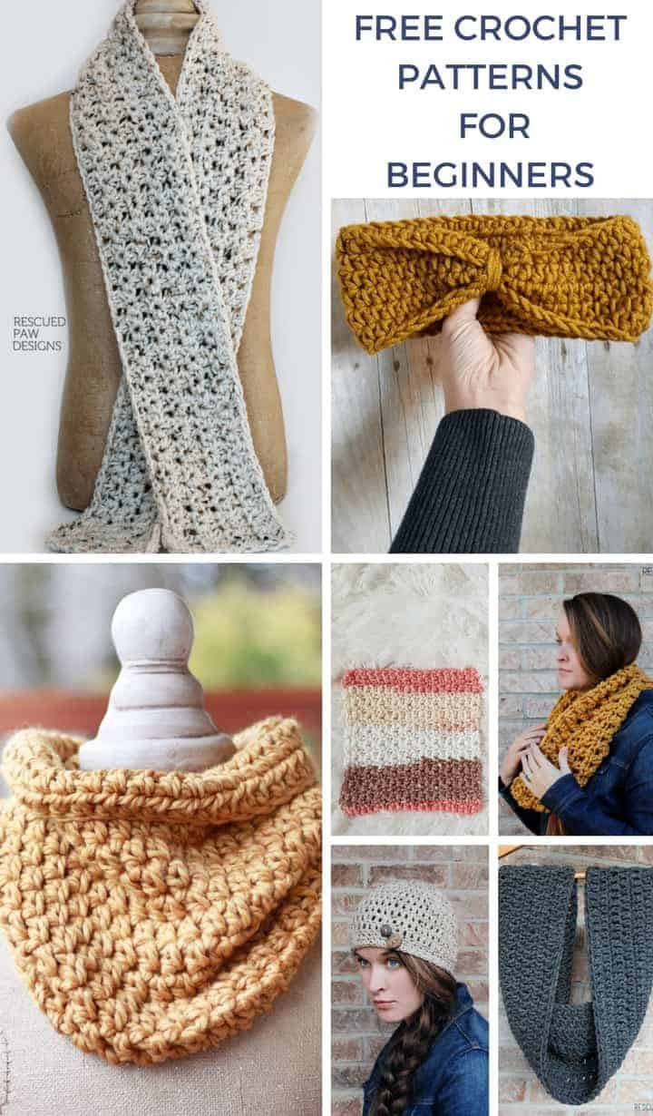 Easy Crochet Patterns for Beginners Beginner Crochet
