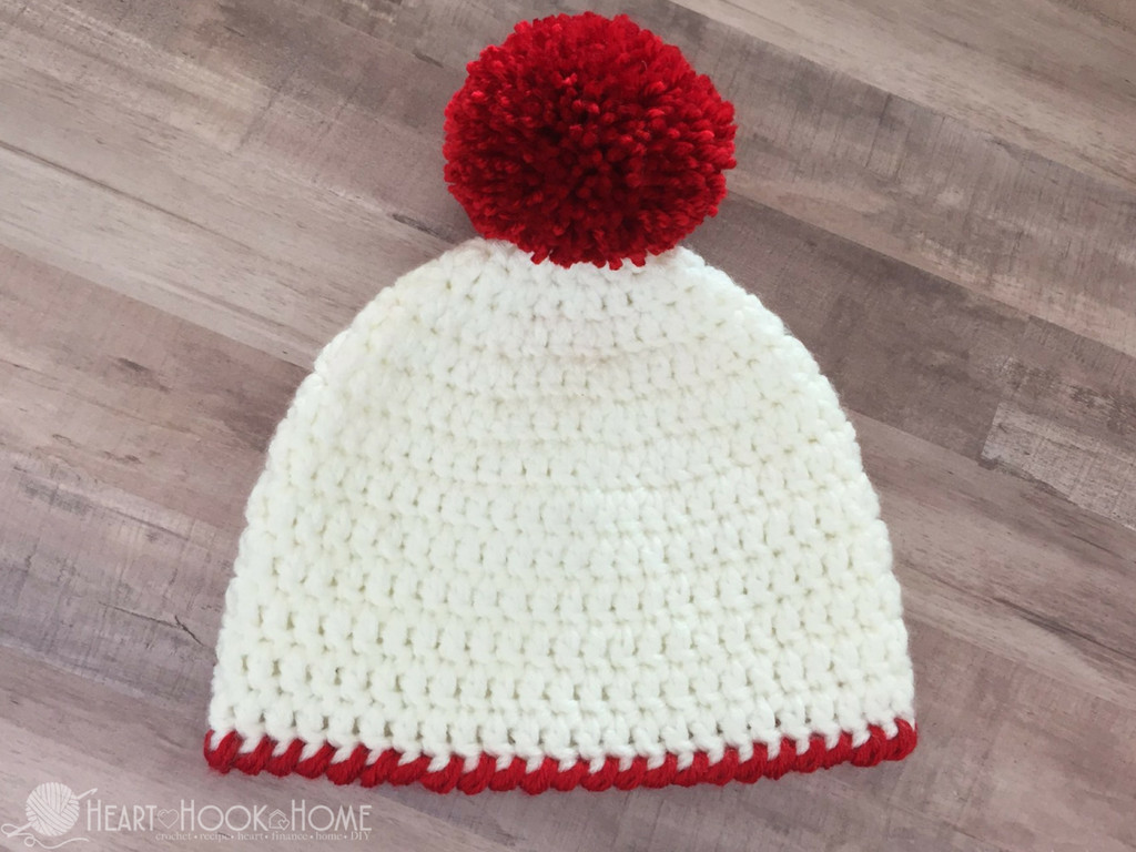 Lovely Easy Peasy 30 Minute Beanie Free Crochet Pattern Simple Crochet Hat Patterns Of Attractive 42 Photos Simple Crochet Hat Patterns