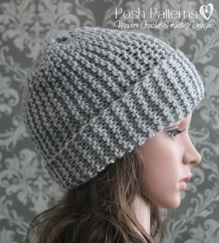 Lovely Easy Slouchy Hat Knitting Pattern Easy Knit Hat Pattern Free Of Top 45 Pictures Easy Knit Hat Pattern Free