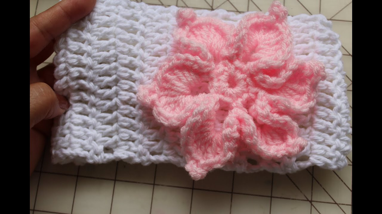Lovely Easy to Crochet Headband with or without Flower Crochet Headband Youtube Of Amazing 40 Models Crochet Headband Youtube
