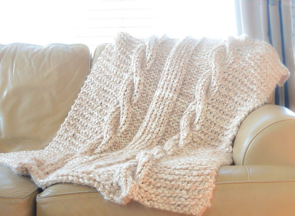 Lovely Endless Cables Chunky Knit Throw Pattern Easy Knit Afghan Patterns Of Great 40 Pictures Easy Knit Afghan Patterns