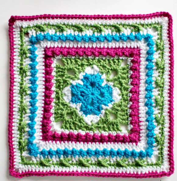 Lovely English Garden Inspired Granny Square Large Granny Square Pattern Of New 47 Photos Large Granny Square Pattern