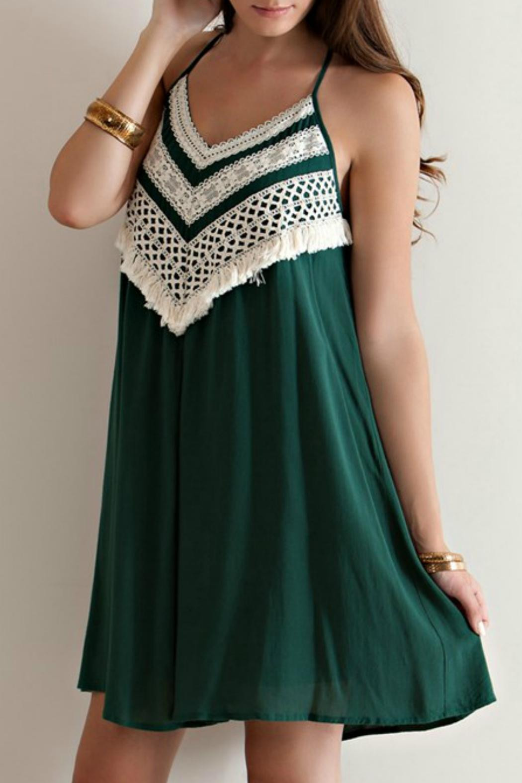 Entro Halter Crochet Dress from Maryland by swank