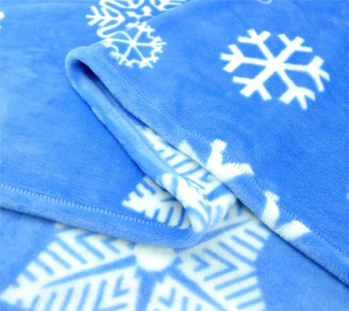 Lovely Euphoria soft Plush Fleece Throw Blanket Bedspread Snowflake Blanket Of Lovely 50 Models Snowflake Blanket