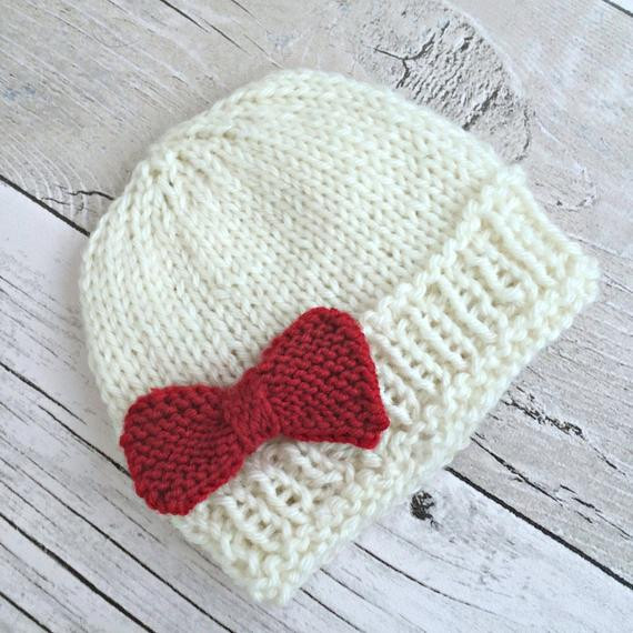 Lovely F White Newborn Hat Preemie Baby Girl Hat with by Knitting Baby Hats for Hospitals Of Beautiful 50 Pics Knitting Baby Hats for Hospitals