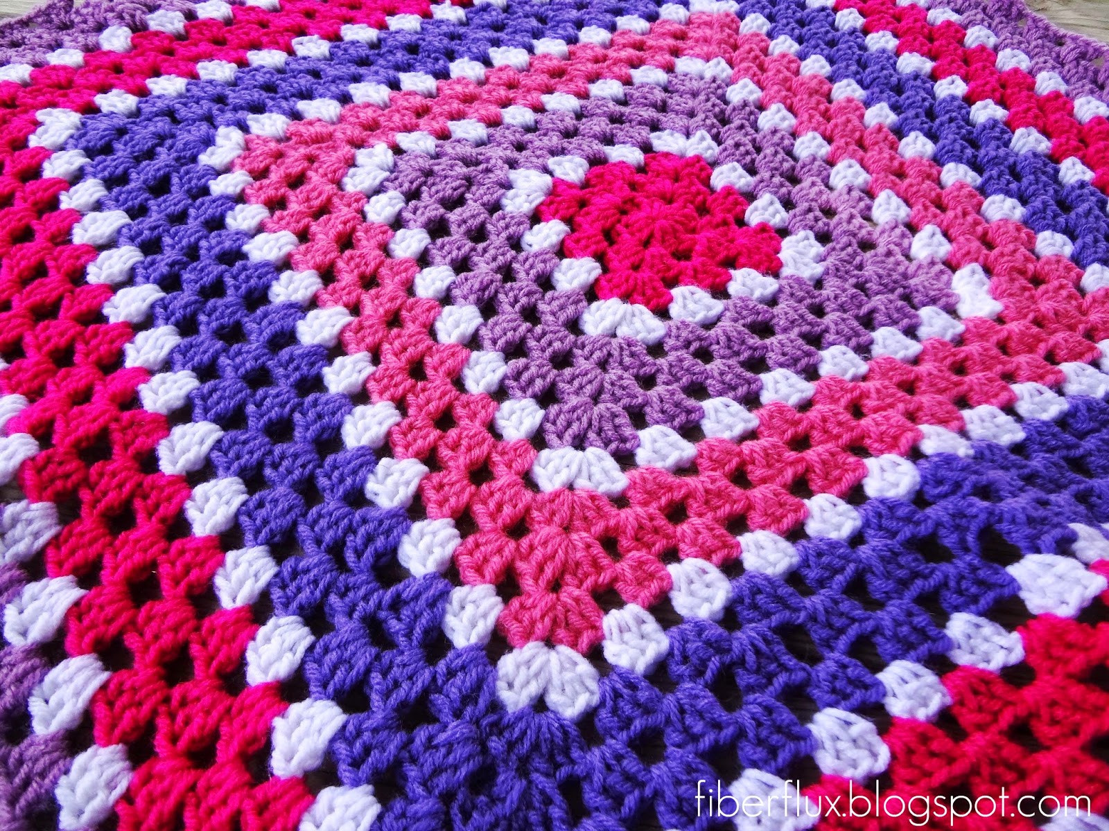Lovely Fiber Flux Free Crochet Pattern Berry Season Blanket Free Crochet Granny Square Baby Blanket Patterns Of Contemporary 45 Pictures Free Crochet Granny Square Baby Blanket Patterns